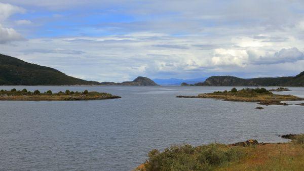 Parque National Tierra del Fuego Bahia Lapataia Republic Argentina