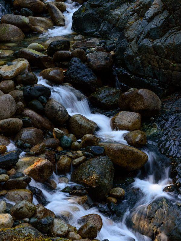 Tiny Rushing Stream