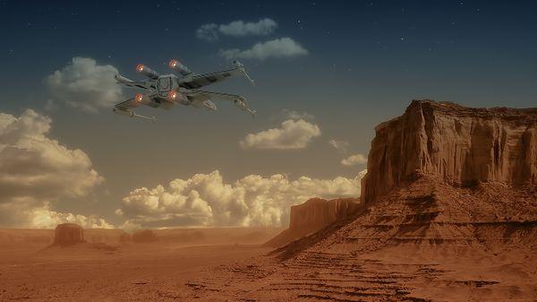 Desert scifi