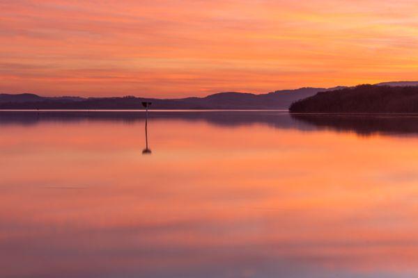 After Sundown At Lough Erne