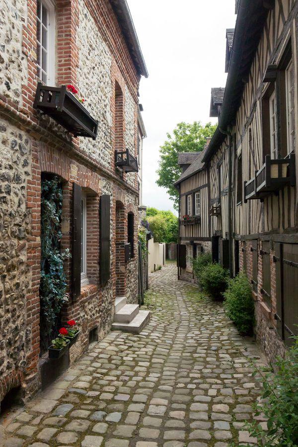 Honfelurs small streets