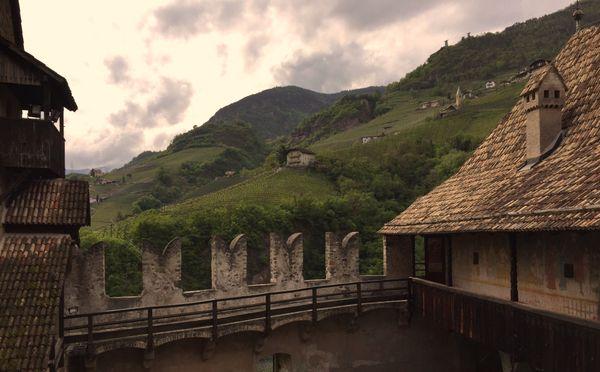 View from Castle Runkelstein