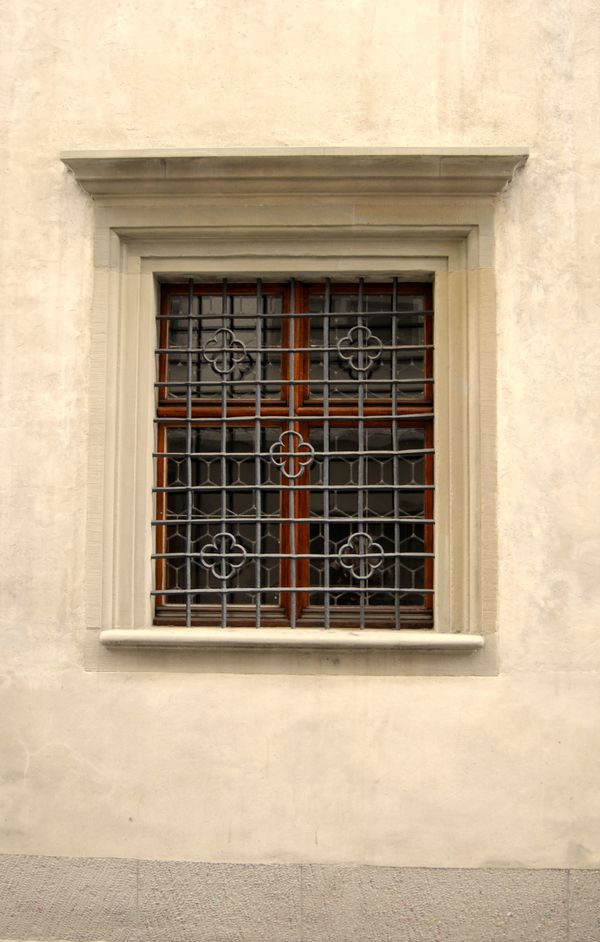 Windows with ornaments