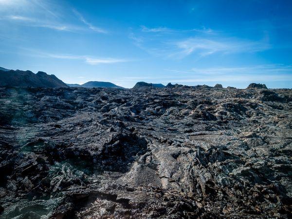 Volcanic fields of Timanfaya