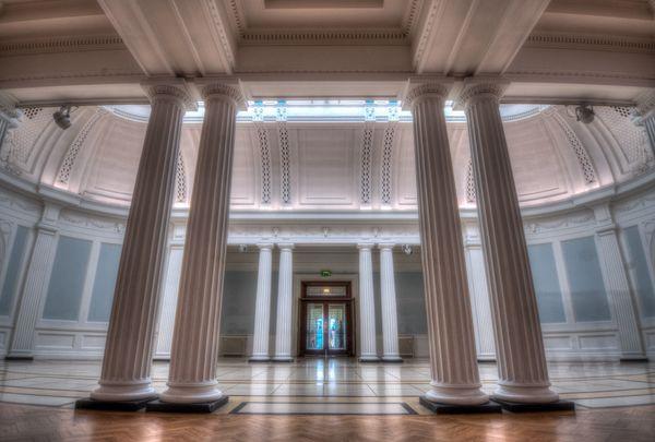 Pillars of Hugh Lane