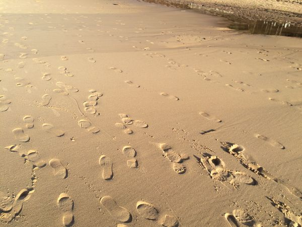 Saulkrasti beach Latvia