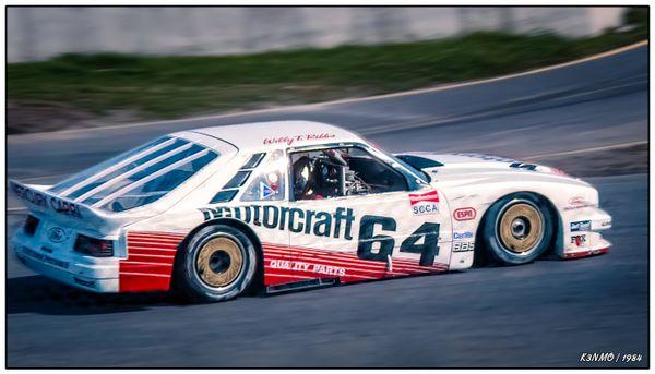 1984 Trans-Am SCCA Trois Rivieres - Willy T Ribbs Mercury Capri