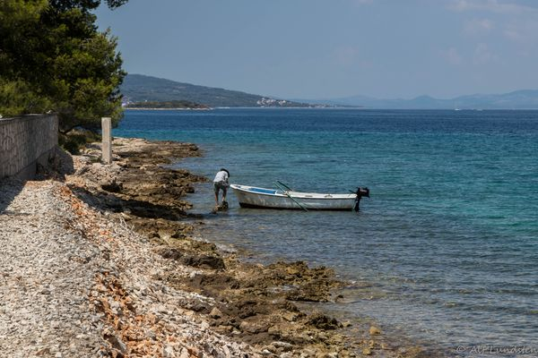Fisherman on a break