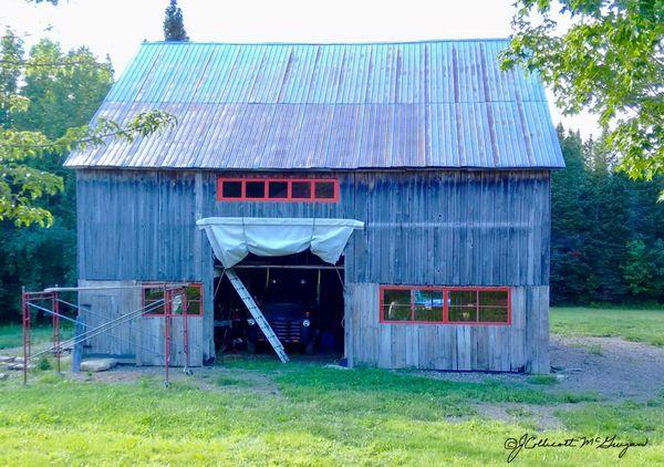 Dad's Old Barn