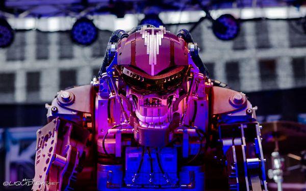 Compressorhead - LIVE - Mega-Wattson