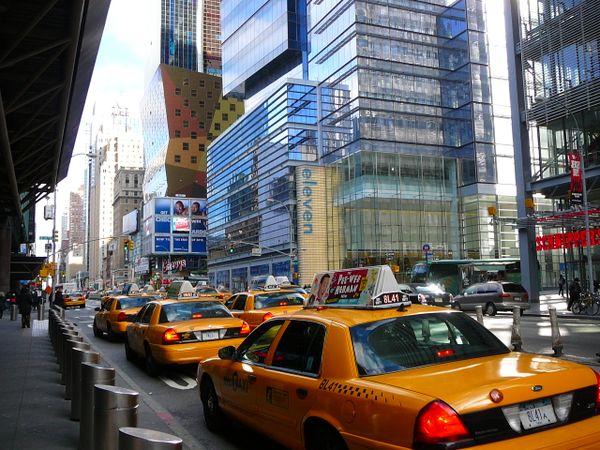 New York City taxi USA