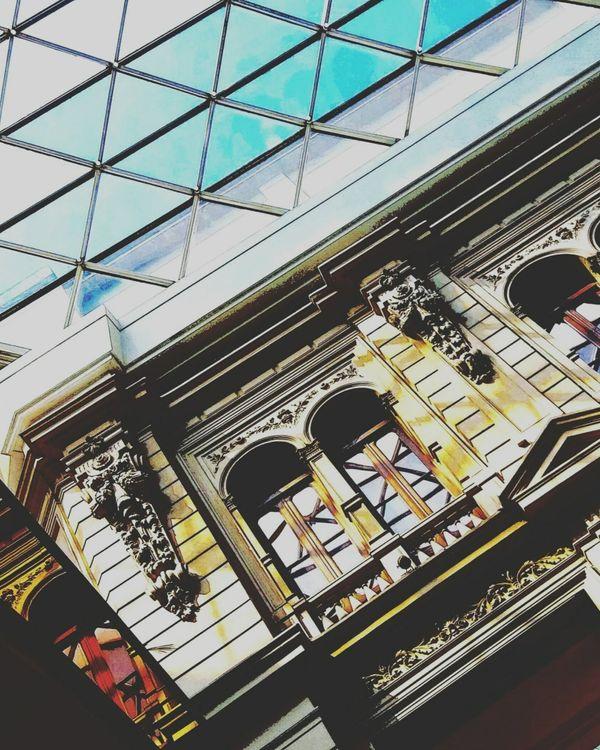 Galerías Pacífico - arquitectura