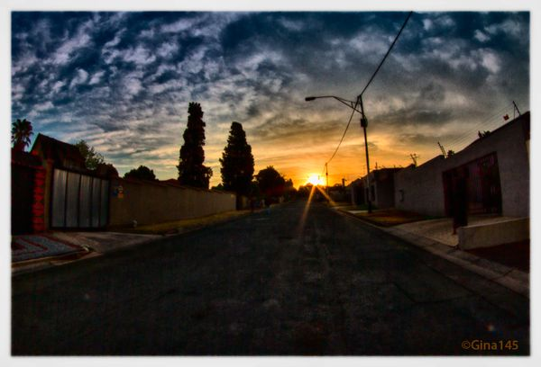 Sunset re-edit