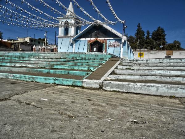 The church in San Juan Arcos Ojo de Agua