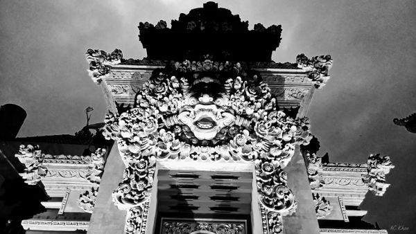 Doorway ~ Ubud palace