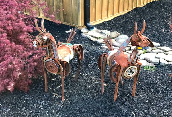 Goat Sculptures