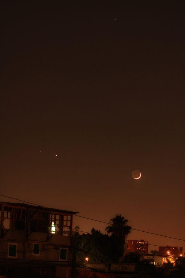 Vista de Luna Menguante