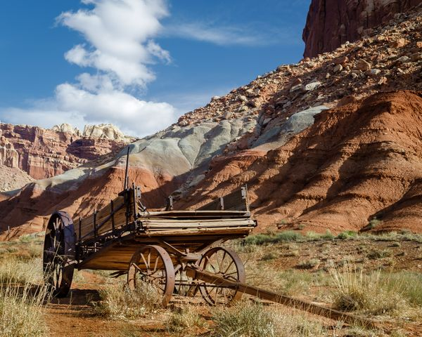 Old Wagon - Capitol Reef National Park