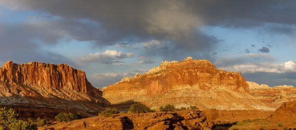 Fluted Wall - Capitol Reef National Park