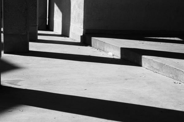 Stone, asphalt and shadows 3
