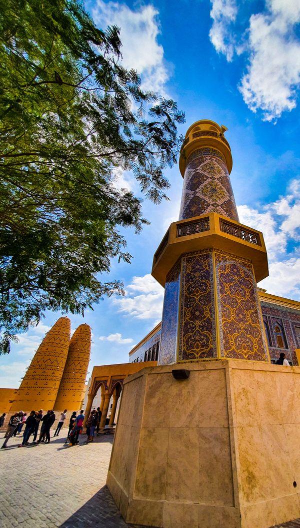 Minaret of a Mosque, Katara