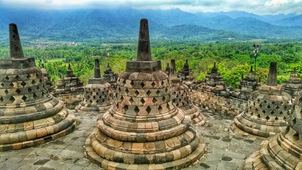 Candi Borobudur, Yogyakarta, Indonesia
