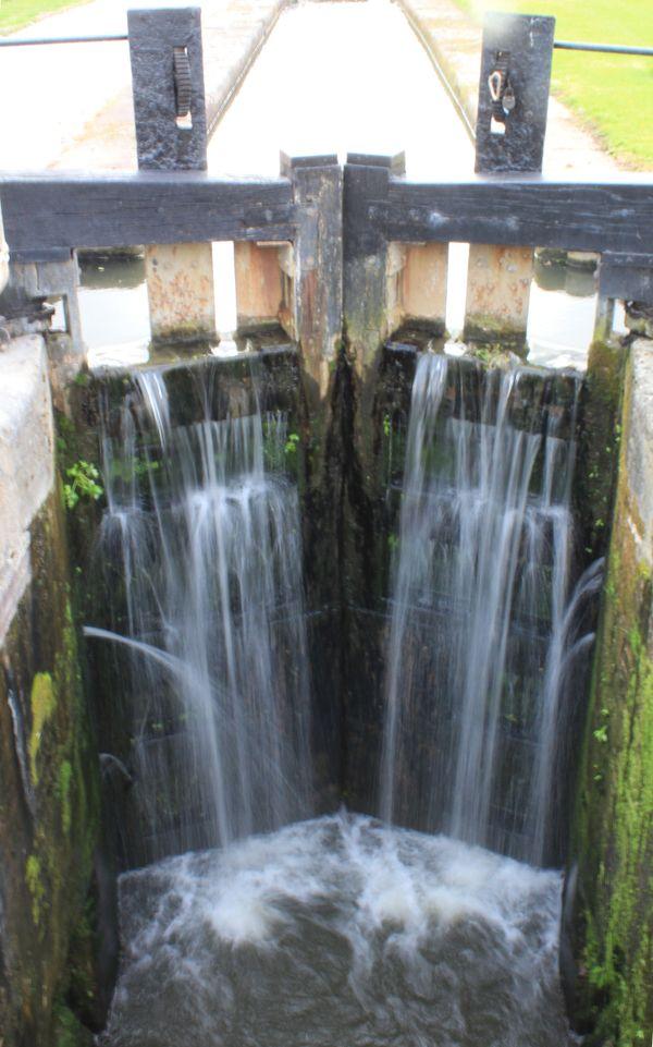 Overflowing Lock Gates