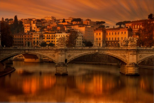 Sunrise in Rome
