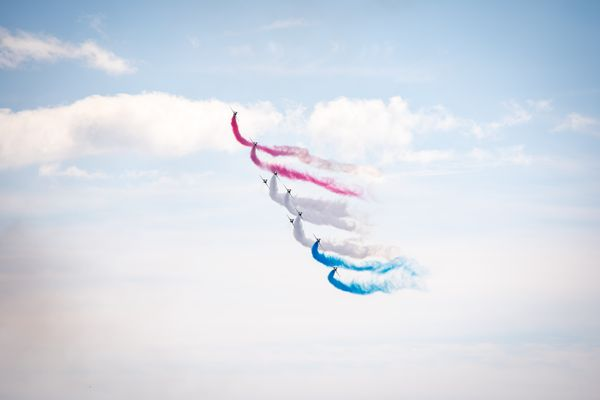 RAF Red Arrows North American Tour