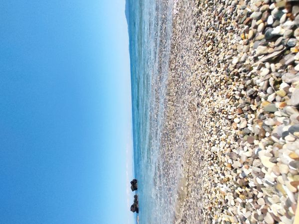 Small beach close to our home !!