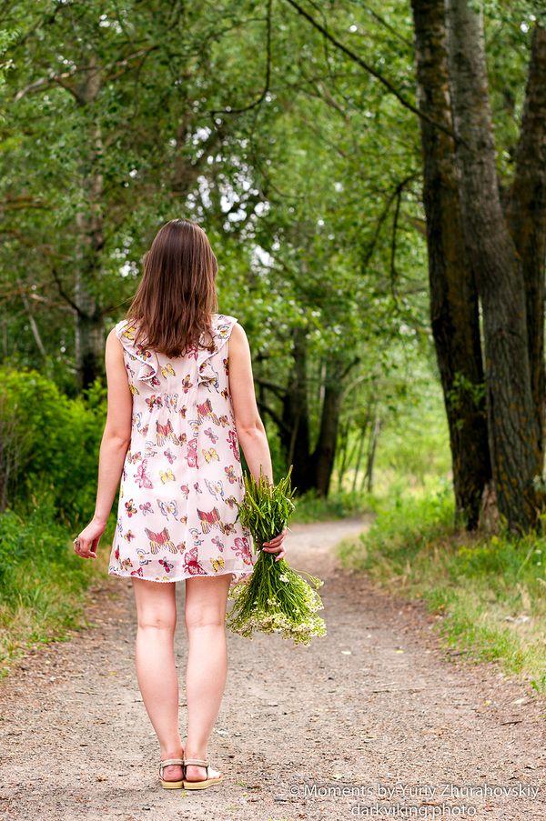 A walk with butterflies