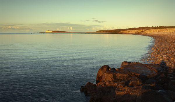 Salthill beach