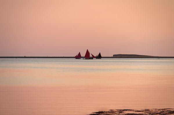 Fishing boat Galway Hooker