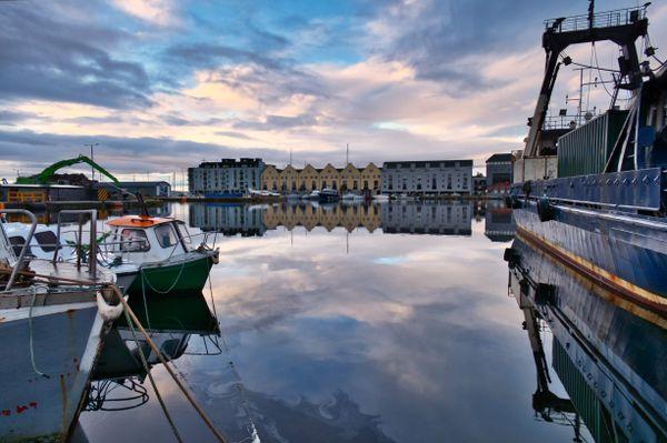 Galway docks