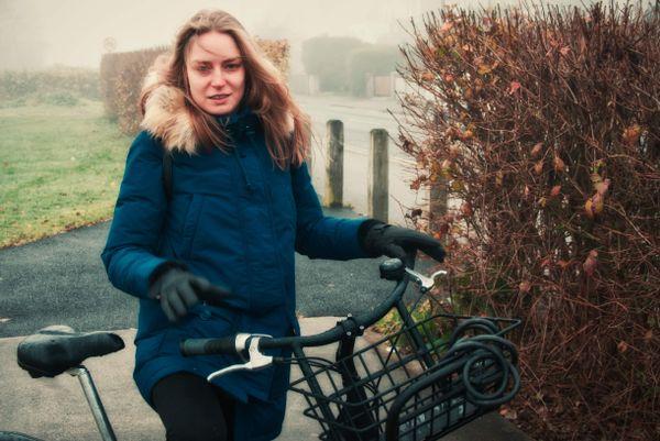 Viki and the bike