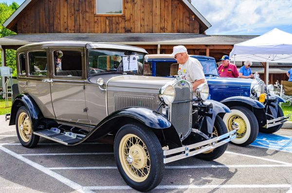 Ford Model A Cars - Vintage Car Show
