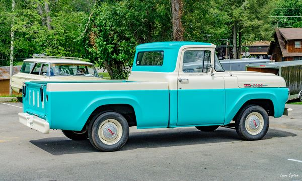 1950s Ford F100 - Vintage Truck - Antique Pickup Truck