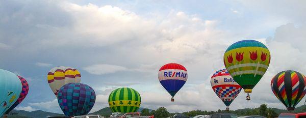 Great Smoky Mountain Hot Air Balloons - banner