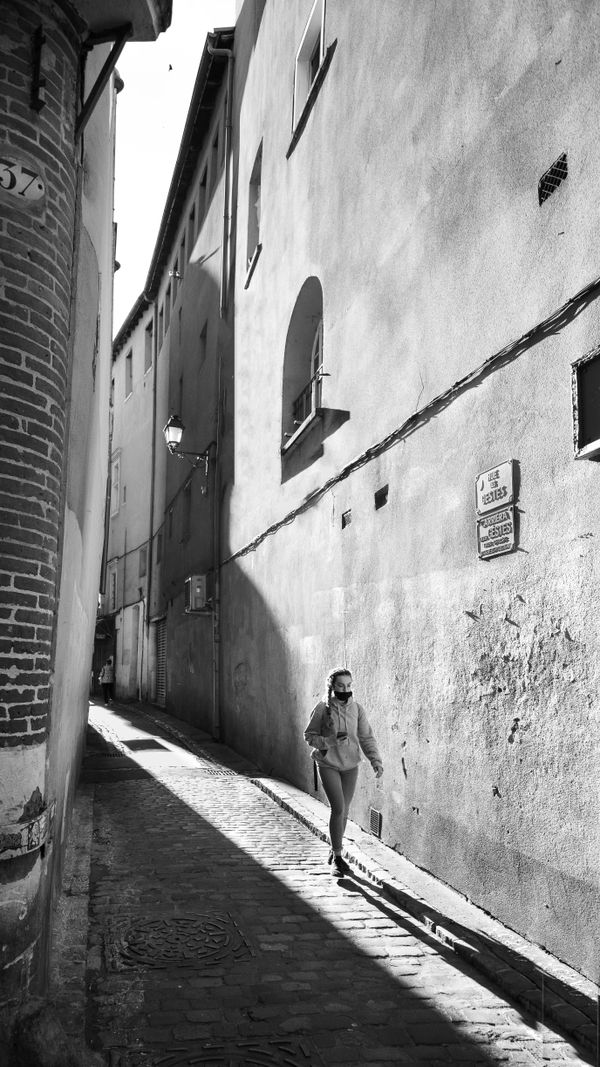 Street photo in Toulouse