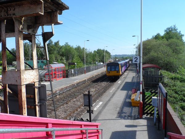 Pacer units passing through Ravensthorpe 15th May 2019
