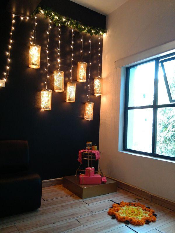 Corner for decoration