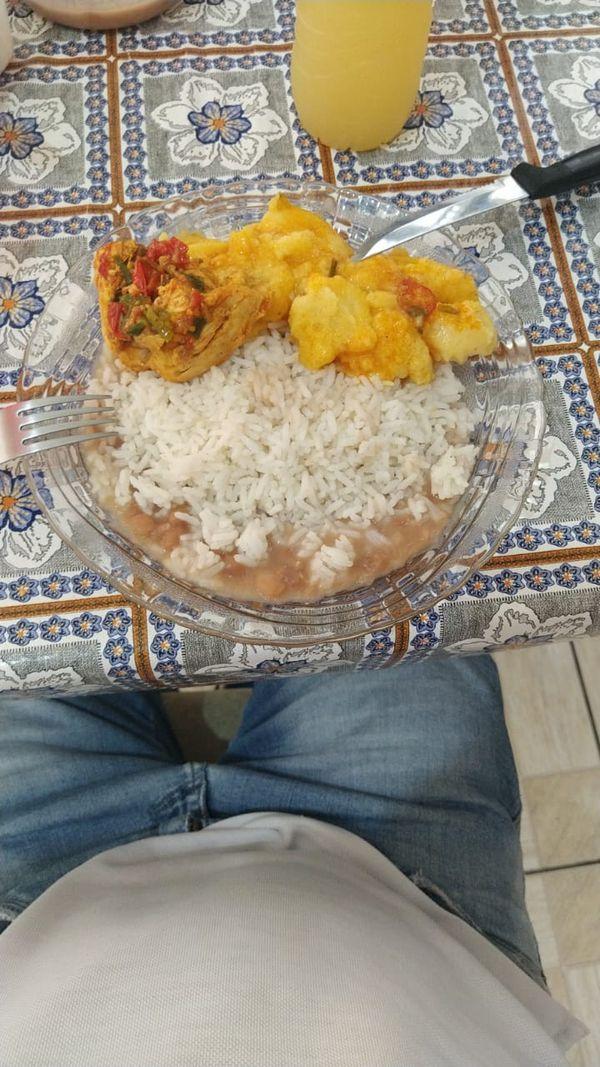 Almoço balanciado