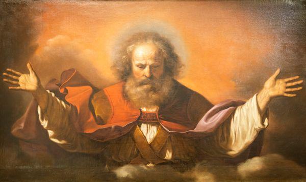 God Father Religion Catholic Jesus Christ