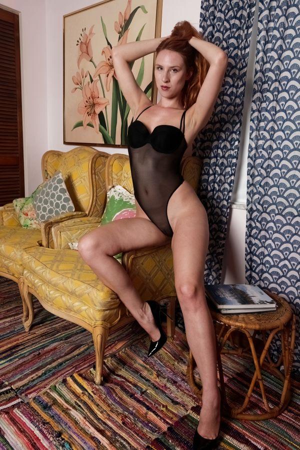 Astrid Kallsen, Sheer Body and Long Legs, Treasure Coast, FL, 6-20-2021