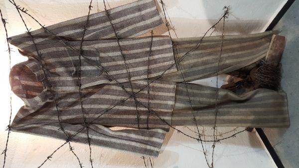 Old prison uniform