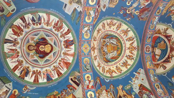 Orthodox church painting
