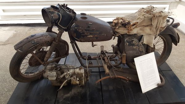 Motorcycle made in prison