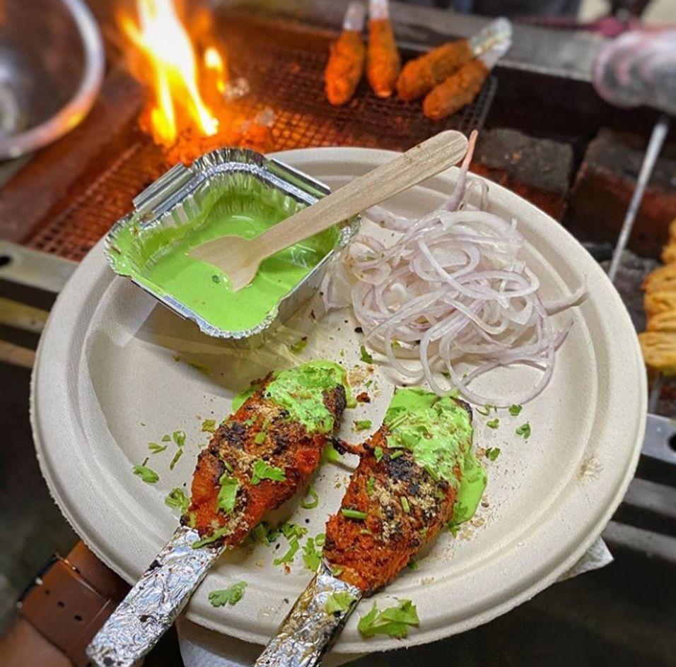 Soya chaap // indian street food